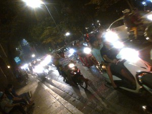 Hanoi Night Streets