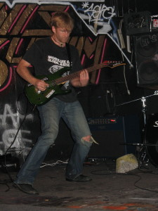 Peter Maybarduk with Last Clear Chance @ 924 Gilman Street 2006