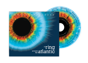 A ring around the Atlantic CD design